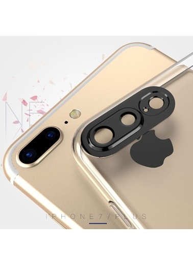 Microsonic Soft series 360 Degree Camera Protector iPhone 8 Plus Kılıf  Beyaz